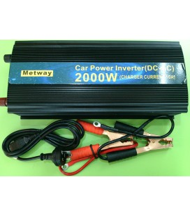 Metway Car Power İnverter 2000w Charger Current 10a
