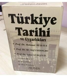 Türkiye Tarihi ve Uygarlıkları - 6 Cilt - Atlantis Yayınları