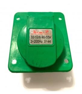 Kem-P 3 Yollu Kapaklı Priz 32-12h - 40-50v - 3-200hz - ip44