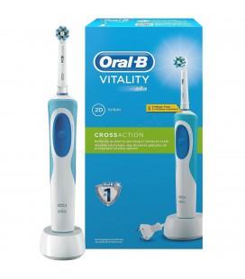 Oral-B 3757 Vitality Şarj Edilebilir Diş Fırçası Cross Action Başlık