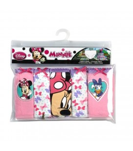 Disney Minni Mouse Çocuk 5 Li İç Çamaşır Seti