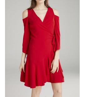 Love My Body Omzu Açık Elbise - 124L5294000