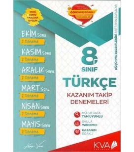 8. Sınıf Türkçe Kazanım Takip Denemeleri - Koray Varol Akademi