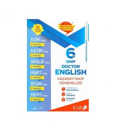 6. Sınıf Doctor English Kazanım Takip Denemeleri - Koray Varol Yayınları