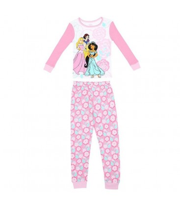 Disney Prensesleri Pamuklu Pijama Takımı 4W164009