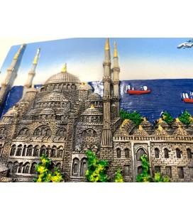 Sultan Ahmet Camii Süsü, Kabartmalı