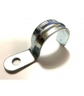 """Tek Delik Boru Kelepçesi 1-1/2"""" - One Hole Strap Galvanized Steel"""