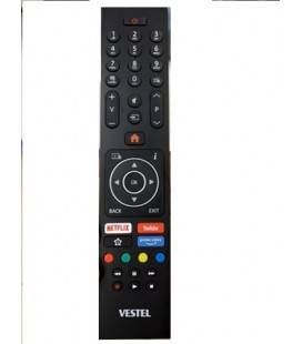 Vestel 4K Orjinal Tv Kumandası Netflix Prime Video Youtube Tuş Özellikli