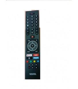 Vestel 4K Orjinal Tv Kumandası Netflix Prime Video Youtube Tuş Özellikli