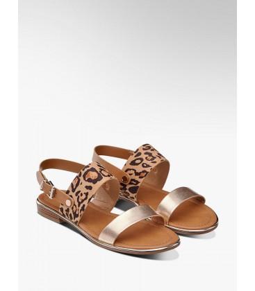 Catwalk, Deichmann, Kadın Leopard Sandalet 1210072