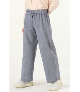 AllDay Saks, Lastikli Kadın Pantolon, - 251-5011
