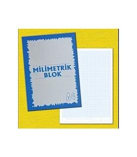 Meka, Milimetrik Blok Defteri A4, - 36 Yaprak