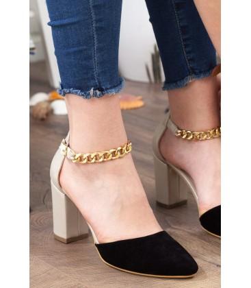 Subaşı Siyah Kadın Klasik Topuklu Ayakkabı, 3175 10683