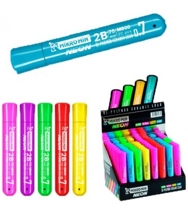 Mikro M-800 Min Neon 0,7 Mm Versatil Kalem Ucu 75 Mm 72 Li (1 Paket 72 Tüp)