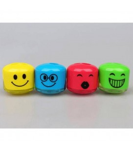 Onas Ns-2065 Öğrenci Kalemtraşı Emoji 36 Lı (1 Paket 36 Adet)