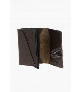 Divarese, Erkek Cüzdan, Kahve - 5022956 -, Kredi Kartlık