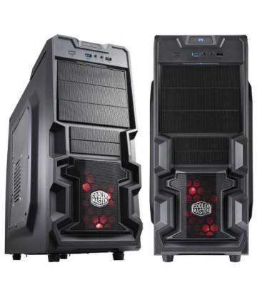 Cooler Master Kasa K380 700W USB3.0 Pencereli Siyah Mid Tower