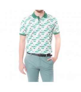 Karaca Erkek Slim Fit Pike T-Shirt - Yeşil 117106095