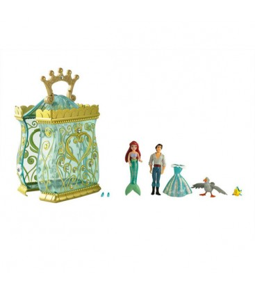 Disney Küçük, Deniz Kızı Ariel Figürlü Kutu, - 174000372