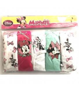 Disney Collection, Minnie Kız Çocuk Külot 5 adet