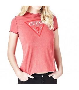 Guess Pembe Kadın Tişört W82I14K1DM1