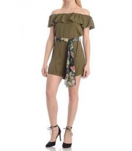 Guess Kadın Elbise Yeşil - W82d05w9w90-Aufl