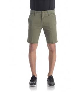 Guess Erkek Bermuda Şort, Kivi Yeşil Mikro Desen - M82D05W9WB0 - PO91