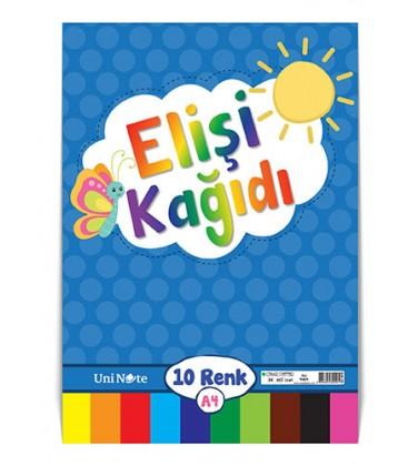 Çınar Defter Elişi Kağıdı 10 Renk A4 - 60020