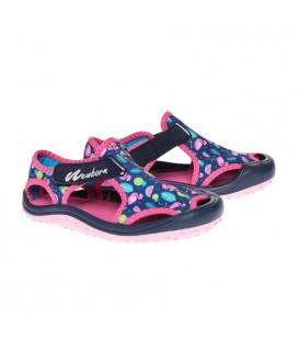 NewBorn Kız Çocuk Sandalet, NAQ5010 Lyon Sandals Flamingo