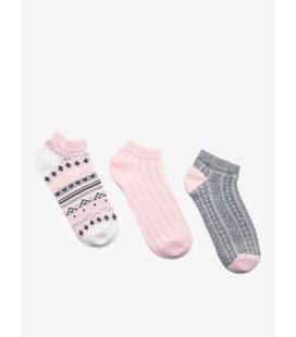 Koton 3'lü Kadın Çorap, - Pembe 9YAK81215AA909