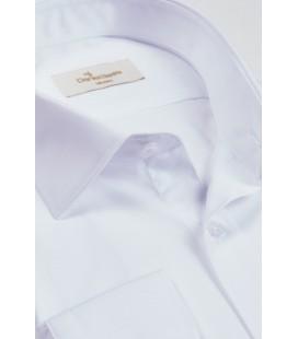 Daniel Bessi Erkek Beyaz Klasik Fit Gömlek 544