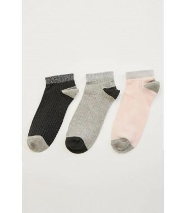 Defacto Karma 3 Kısa Kadın Çorap L6617AZ