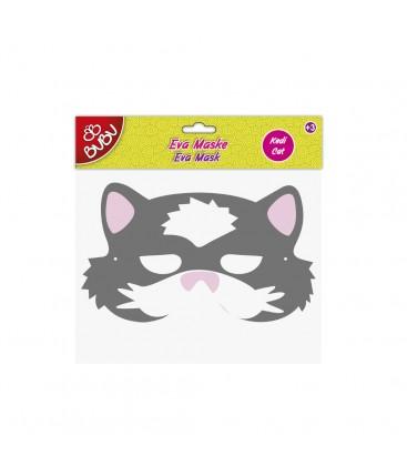Bubu Eva Maske, - Kedi Maske, - bubu-em0011