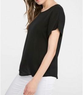 Defacto Kadın Krep Siyah Bluz, G6035az
