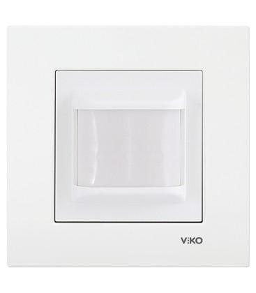 Viko Anahtar-Priz Karre Hareket Dedektörü 2 Wire 180⁰-6m - Meridian Beyaz
