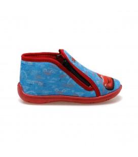 Disney Cars Neville Mavi Erkek Çocuk Panduf Ayakkabı - 100427779