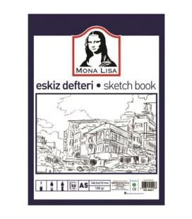 Südor Mona lisa Eskiz Defteri A5 50 Yaprak BN05-5