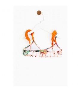 Lialed Tropik Kız Çocuk Bikini Takımı - 19ssllbkn102