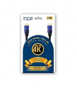 Inca IHH-01 HDMI To HDMI 1.8M Altın Uçlu Kablo