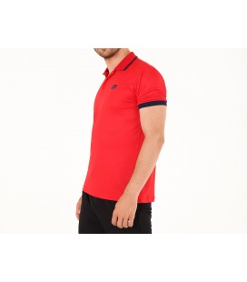 Lotto Polo Court Pl Erkek T-Shirt Kırmızı N1732-R