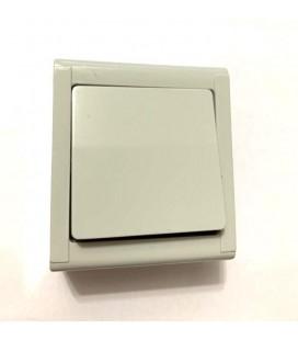 Mepa Sıva Üstü Lüx Anahtar 60669-1 Gri