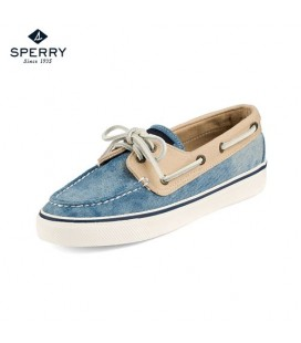 Sperry Bahama Canvas Kadın Ayakkabı 2 Eye W Denim Kha