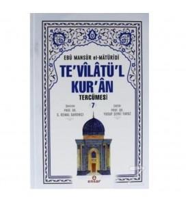 Te'vilatü'l Kur'an Tercümesi 7. Cilt - Ebu Mansur el-Matüridi - Ensar Yayınları