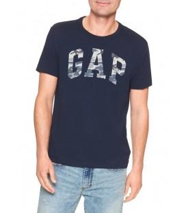 Gap Logo Erkek Lacivert Tişört 500039-00-5