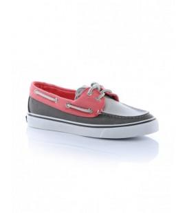 Sperry Bahama Canvas Kadın Ayakkabı Pink Grey