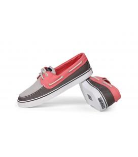Sperry Bahama Canvas Kadın Ayakkabı Pink Grey 9524513