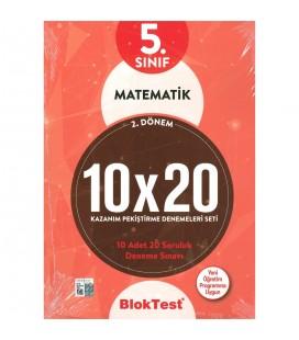 5. Sınıf Matematik 10X20 Kap Deneme 2. Dönem - Tudem Bloktest