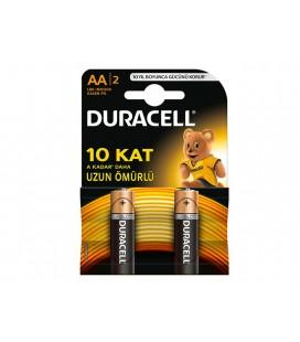 Duracell AA 2 - 2'li Kalem Pil 10 Kata Kadar Dayanıklı