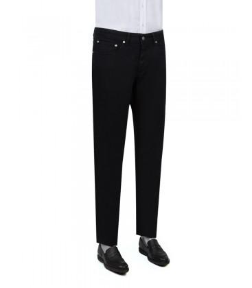 D'S Damat Slim Fit Siyah Denim Pantolon 2HCJ35800399M001
