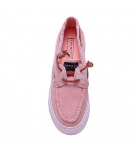 Sperry Bahama Canvas Kadın Ayakkabı Washed Pink STS91301